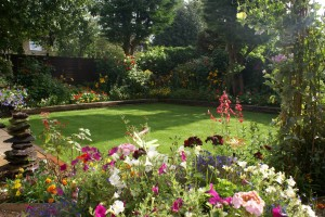 Bicester in Bloom 2012 - Best Back Garden - Gold Award Winner