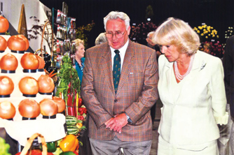Arthur Davies at the Suffolk Show