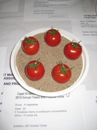 My winning Cherry Tomatoes