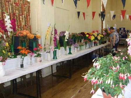 Part of Capel St Mary Flower Show