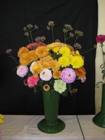 My Mixed Garden Flowers 2nd prize