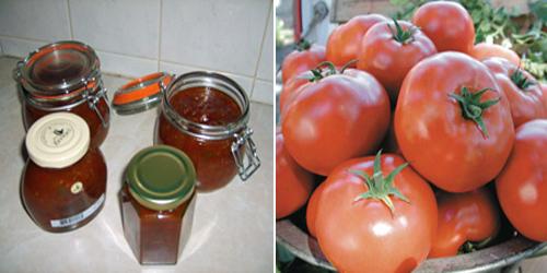 Sweet Hot Chilli and Tomato Chutney