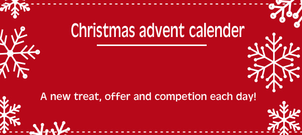 Christmas advent calendar 2014