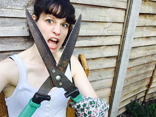 beginner gardener Helen Sorren