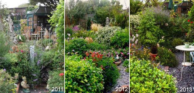 Geoff Garden 2011, 2012 & 2013