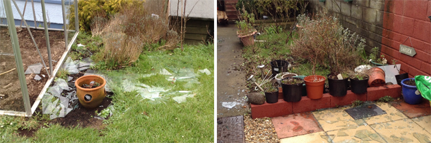 Greenhouse damage