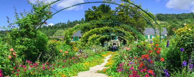 Claude Monet's Summer Garden