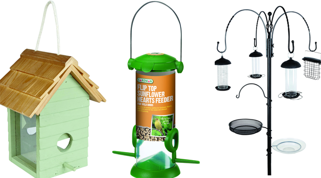 Bird tables and stations